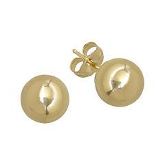 Infinite Gold™ 14K Yellow Gold 6mm Ball Stud Earrings