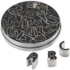 Cake Boss™ 26-pc. Alphabet Fondant and Cookie Cutter Set