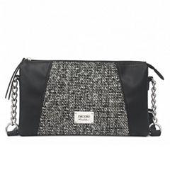 Nicole By Nicole Miller Lola Crossbody Bag