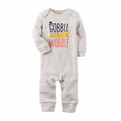 Carter's Thanksgiving Long Sleeve Jumpsuit - Baby