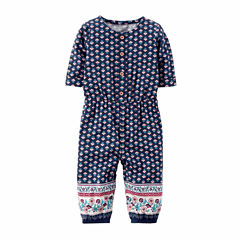 Carter'sElbow Sleeve Jumpsuit - Baby