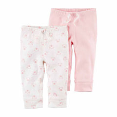 Carter's Knit Jogger Pants - Baby Girls