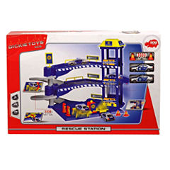 Police Station Playset Truck