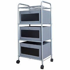 3-Drawer Chalk Cart