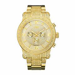 JBW Men's Lynx .80 ctw Diamond 18k gold-plated stainless-steel Watch J6336B