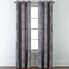 Studio™ Focus Grommet-Top Curtain Panel