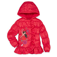 Disney Elena of Avalor Lightweight Puffer Jacket - Girls-Big Kid