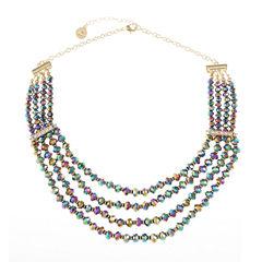 Liz Claiborne Clear Beaded Necklace