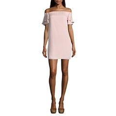 Kelly Renee Short Sleeve Shift Dress