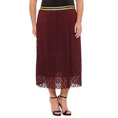 Worthington Lace Skirt-Plus