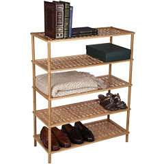 Household Essentials® 5-Tier Bamboo Shoe Rack