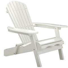 Northbeam Simple Acacia Adirondack Chair