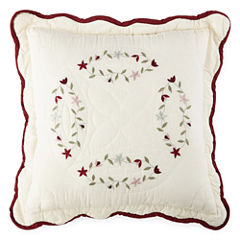 Home Expressions Hope Chest Square Decorative Pillow