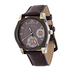 Mossy Oak Mens Brown Bracelet Watch-Mow081ox-Br
