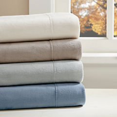True North By Sleep Philosophy Liquid Velvet Fleece Easy Care Sheet Set