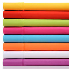 Premier Colorful Collection Soft Super Bright Microfiber Sheets 4 Piece Set