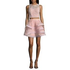 Speechless Long Sleeve Party Dress-Juniors