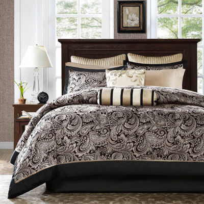complete bedding set with sheets - Comforters Queen