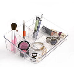 Mind Reader Acrylic 7-Compartment Cosmetic Organizer