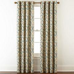 Royal Velvet® Blaine Grommet-Top Blackout Curtain Panel