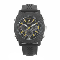 Wrist Armor U.S. Army C21 Mens Black Strap Watch-37200003
