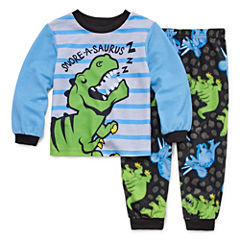 Dinosaur 2 Piece Pajama Set - Toddler Boys