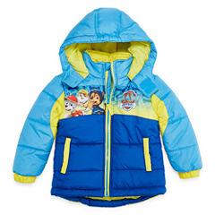 Paw Patrol Logo Puffer Jacket -Toddler Boys