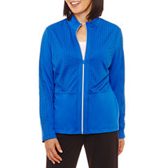 Alfred Dunner Easy Going Track Jacket