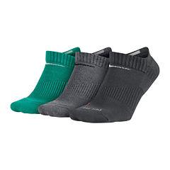 Nike® 3-pk. Mens Dri-FIT No-Show Socks - Big & Tall