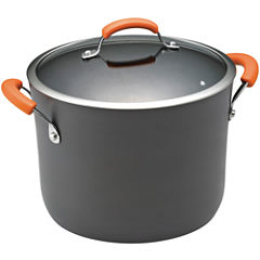 Rachael Ray® 10-qt. Hard-Anodized Covered Stock Pot