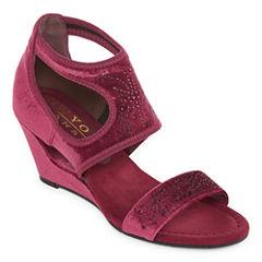 New York Transit Natural Pretty Womens Wedge Sandals