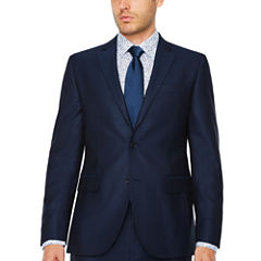 JF J.Ferrar Stripe Slim Fit Stretch Suit Jacket