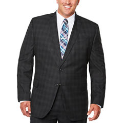 J.Ferrar Woven Suit Jacket Big and Tall