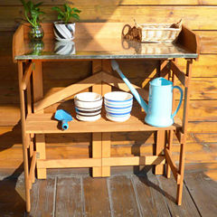 Northbeam Potting Bench with Recessed Storage