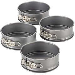 Cake Boss™ Specialty Bakeware Set of 4 Nonstick Mini Springform Pans