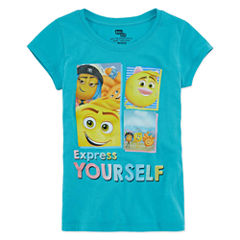 Sony SS Emoji Movie Graphic Tee - Girls' 7-16