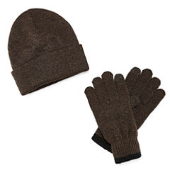 St. John's Bay Beanie and Glove Set