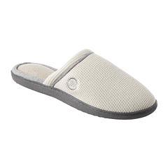 Isotoner® Waffle-Knit Clog Slippers