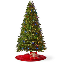 North Pole Trading Co. 7 1/2 Foot Highland Pre-Lit Christmas Tree