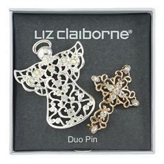 Liz Claiborne Clear Pin