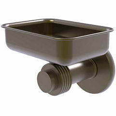 Allied Brass Mercury Collection Wall Mounted SoapDish with Groovy Accents