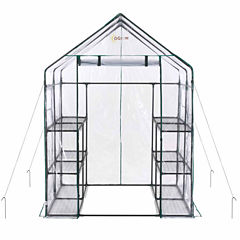 Ogrow Deluxe Walk-In 6 Tier 12 Shelf Portable Greenhouse