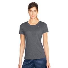 Champion Short Sleeve Round Neck T-Shirt-Womens