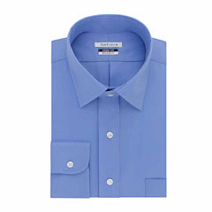 Van Heusen Easy-Care Magnaclick Long Sleeve Twill Dress Shirt