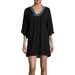 Wearabouts Jersey Swimsuit Cover-Up Dress