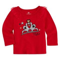 Okie Dokie Graphic T-Shirt-Baby Girls
