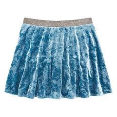 Arizona Velvet Skater Skirt - Big Kid Girls