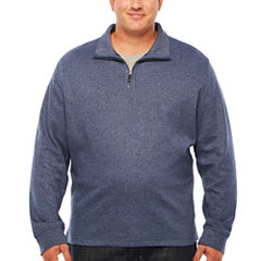 Van Heusen Quarter-Zip Pullover Big and Tall