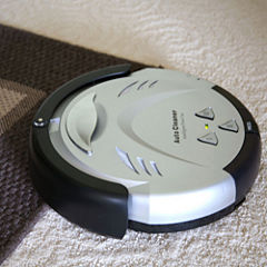 iTouchless Robotic Vacuum Cleaner with 3 Cleaning Modes