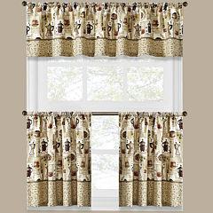 Coffee Shoppe Kitchen Curtains